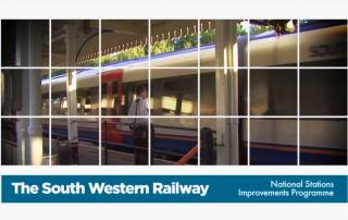 South West Trains station upgrade video