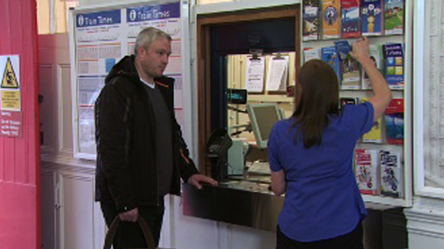 Training video South West Trains