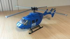 ITN Helicopter gift, aerial filming pre drone
