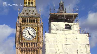 Houses of Parliament restoration video